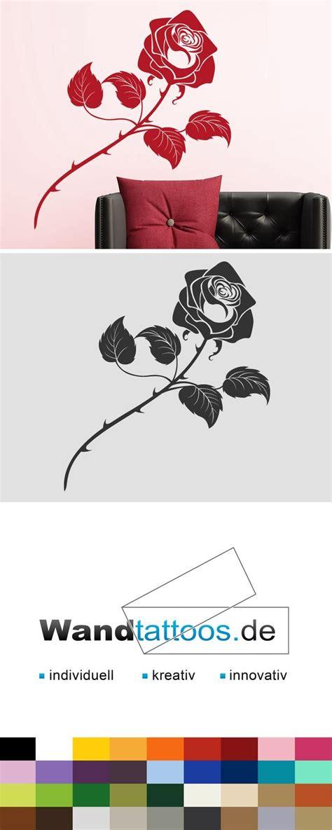 Wandtattoo Blumen Kreative Wandgestaltung by Wandtattoo Blume Bl 252 Te