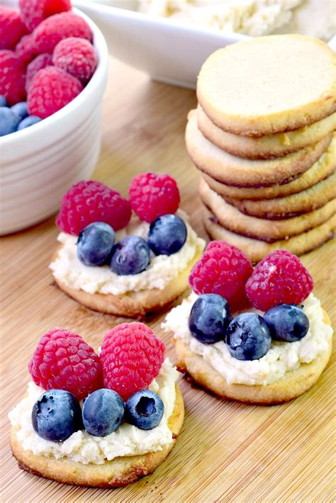 Enjoy this low carb cheese cracker recipe! Low Carb Berry Cream Cheese Sugar Cookies   Bobbi's Kozy Kitchen