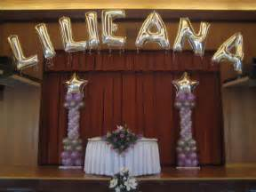 quinceanera balloon decorations favors ideas