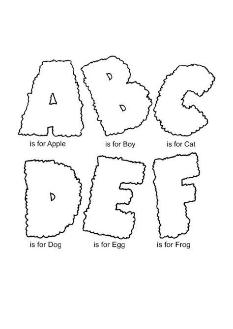 coloring pages alphabet coloring pages  kids