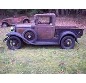 1930 Ford Model A Pickup Truck Barn Find Orginal