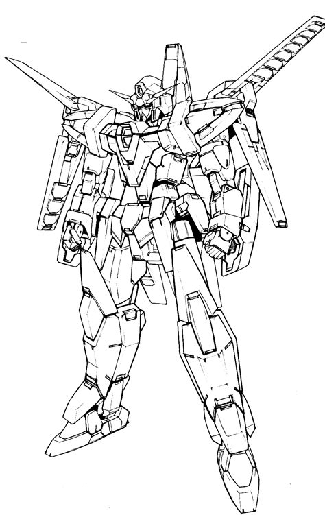 Coloring Gundam by Free Gundam Wing Colouring Pages Hd Wallpaper