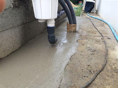 dalle pour le local technique et escalier ext 233 rieur construction d une piscine en b 233 ton