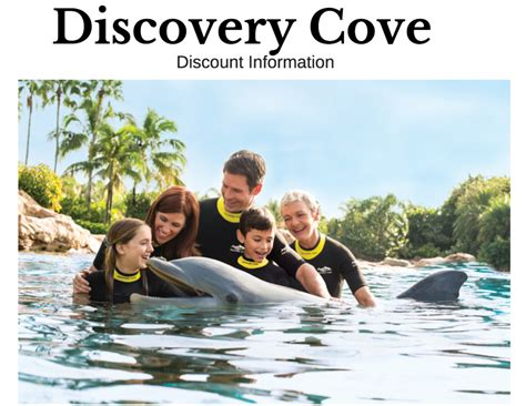 discovery cove orlando tickets experience discovery cove orlando discount ticket