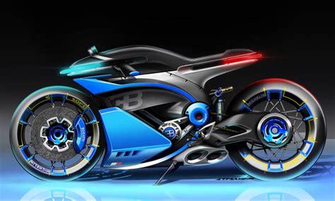 Veja mais ideias sobre motos, veículos, carros. Pin by Patrick V on Bugatti M/C in 2020   Bugatti concept, Futuristic motorcycle, Concept ...