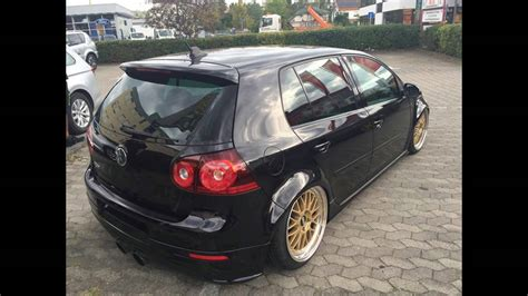 show tuning vw golf   turbo auf  zoll bbs lemans