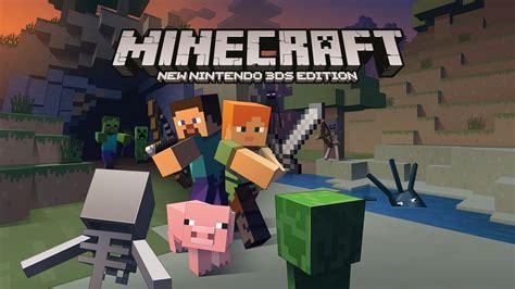 Minecraft Annoncé Sur New 3ds Et Disponible Dès Maintenant