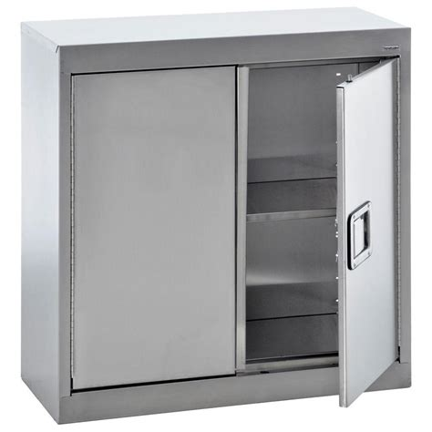 metal wall storage cabinets sandusky 30 in h x 30 in w x 12 in d stainless steel
