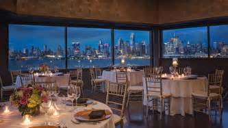 jersey wedding venues events at chart house weehawken waterfront seafood