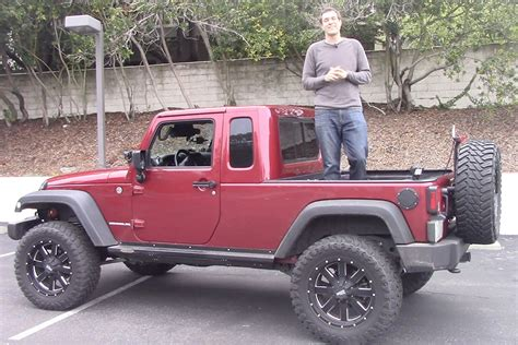 heres   jeep wrangler pickup  awesome autotrader