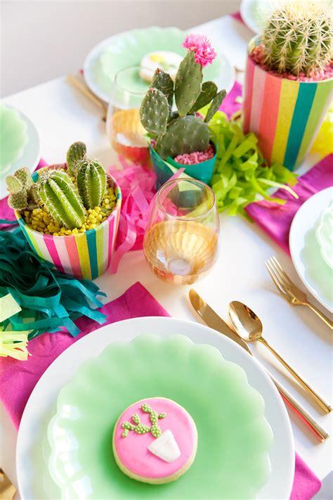 diy cactus party  love  party