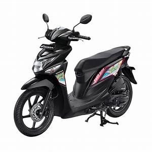 Jual Honda New Beat Pop Esp Cw Comic Tone Black Sepeda