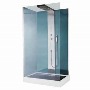 Cabine De Douche Hydromassante : cabine de douche hydromassante welle 120 x 80 cm castorama ~ Dailycaller-alerts.com Idées de Décoration