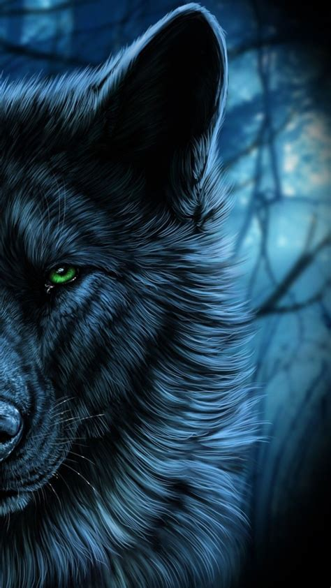 Wolf Drawing Wallpaper by Blue Wolf Wallpapers Top Free Blue Wolf Backgrounds