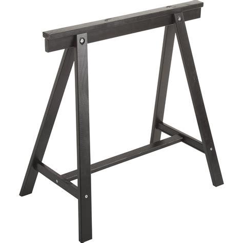 chaise haute cuisine design tréteau pin déco h 70 x l 70 cm leroy merlin