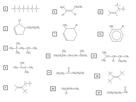 Organic Chemistry Naming Worksheet Worksheets For All  Download And Share Worksheets  Free On