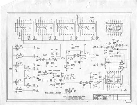Farfisa Matador Electronic Organ Schematic Diagrams
