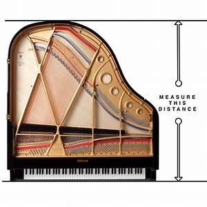 Baby Grand Piano Dimensions - Measuring a Piano | Euro Pianos