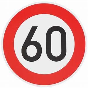 6 Km H Schild : original verkehrszeichen 60 km h schild 60 cm ~ Jslefanu.com Haus und Dekorationen