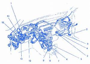 Ford Escort 1996 Under Dash Electrical Circuit Wiring Diagram  U00bb Carfusebox