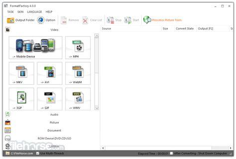 format factory    windows filehorsecom