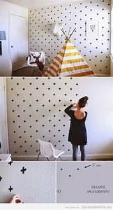 Ideas DIY y manualidades para pintar y decorar paredes
