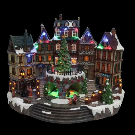home accents holiday   animated holiday downtown nm