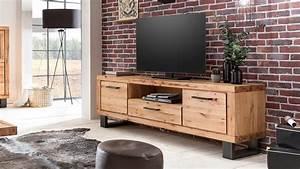 Tv Board Buche Massiv : tv board leife lowboard kommode in buche massiv und metall schwarz ~ Bigdaddyawards.com Haus und Dekorationen