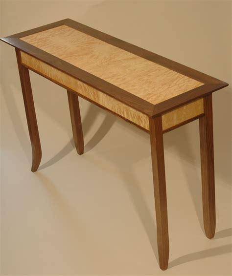 project working woodworking plans  hall table