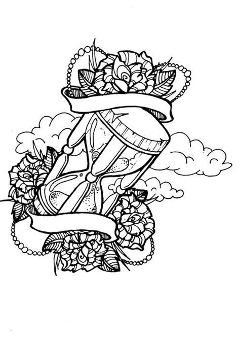 tattoo sand clock designs - Google Search | Tat ideas