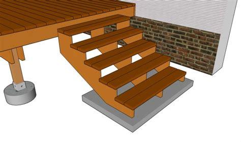 deck stairs plans myoutdoorplans  woodworking