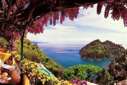 Amalfi Italy Wallpapers Coast Surrealism Background Ocean