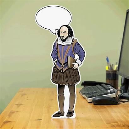 Shakespeare Says Mcphee Archie Office Desk
