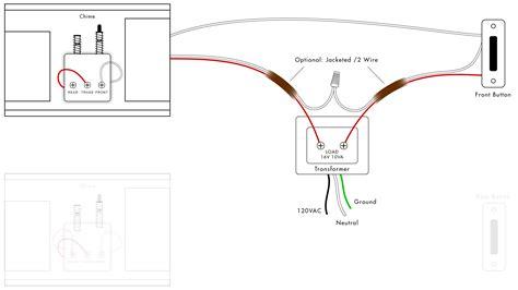 wiring diagram doorbell wiring diagrams diy house help