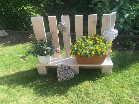 Europaletten  Blumenregal  Stehregal Holz