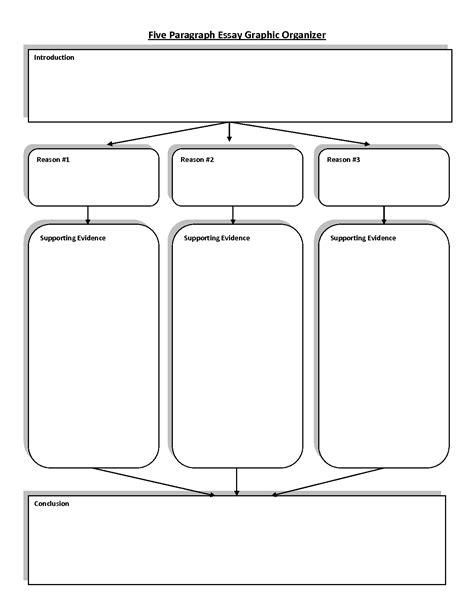graphic organizer template analysis essay graphic organizer