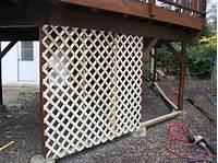 lattice under deck Adding Lattice to the Bottom of a Deck | HGTV