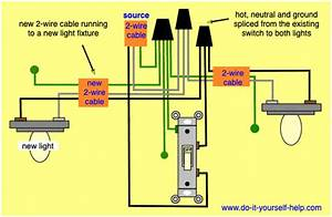 Wiring Diagram To Add A New Light To An Existing Switch
