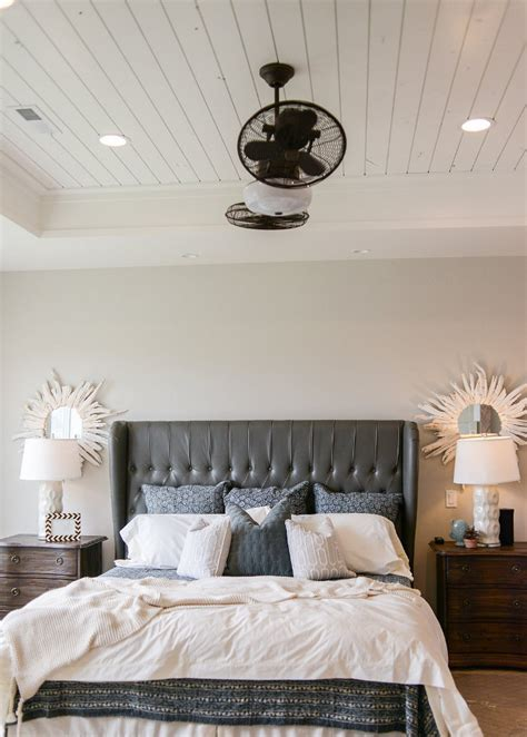 Shiplap Ceiling - how to make your tray ceiling feel like home