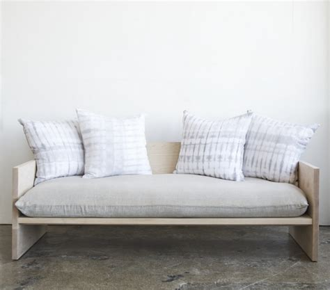 daybed that looks like a sofa formula for a diy donald judd esque sofa improvised life
