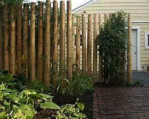 Cloture Et Jardin : brise vue bambou et cl ture pour plus d intimit dans le ~ Nature-et-papiers.com Idées de Décoration