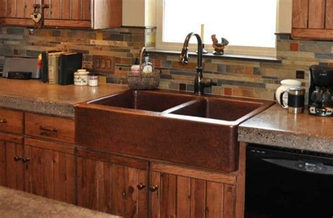 undermount copper kitchen sinks kitchen copper sink with bronze faucet tips to caring a 6578