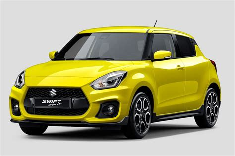 2018 Suzuki Swift Sport Interior Confirms Manual, 10t