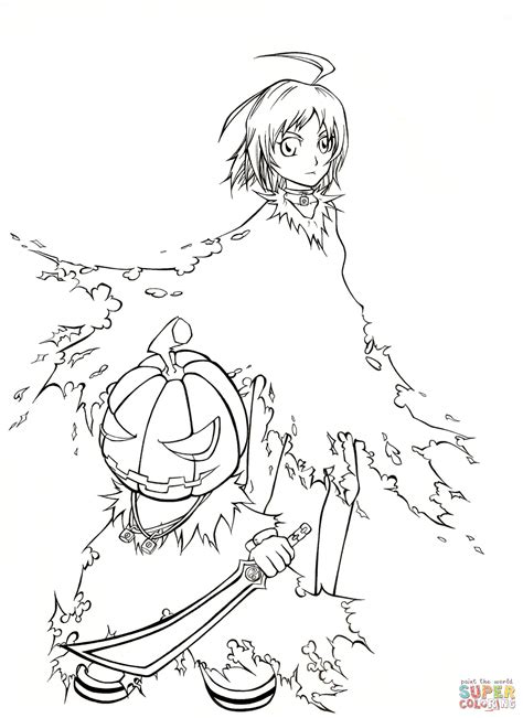 Coloring Anime by Anime Coloring Pages Festival Collections