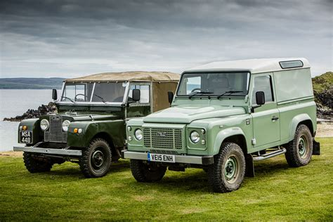 Land Rover Defender Review by Land Rover Defender Heritage Edition Review 2015 Drive