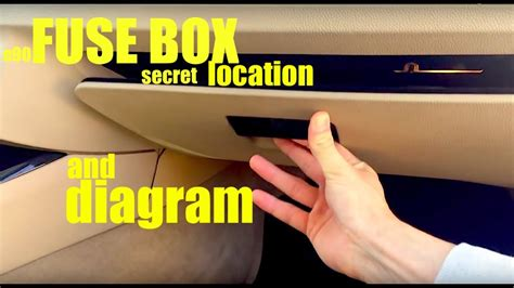 Bmw Fuse Box Diagram E90 by Where Is The Fuse Box Location In A Bmw E90 And