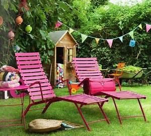 Mobilier De Jardin Fermob : chaise longue de jardin fermob ~ Dallasstarsshop.com Idées de Décoration