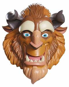 Beast Mask Deluxe Beauty and The Beast Costume Accessory