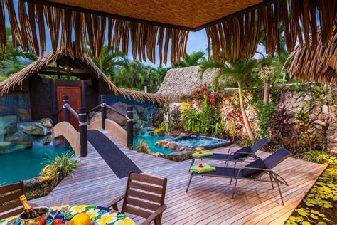 Luxury Villa On Swedish Island by Cook Island Luxury Resort Rumours Villas Spa Rarotonga