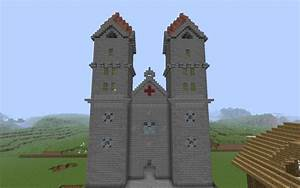 Häuser Im Mittelalter : romanische kathedrale fassade in minecraft bauen ~ Lizthompson.info Haus und Dekorationen